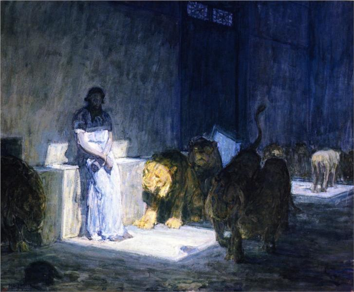 Henry Ossawa Tanner, Daniel in the Lions' Den