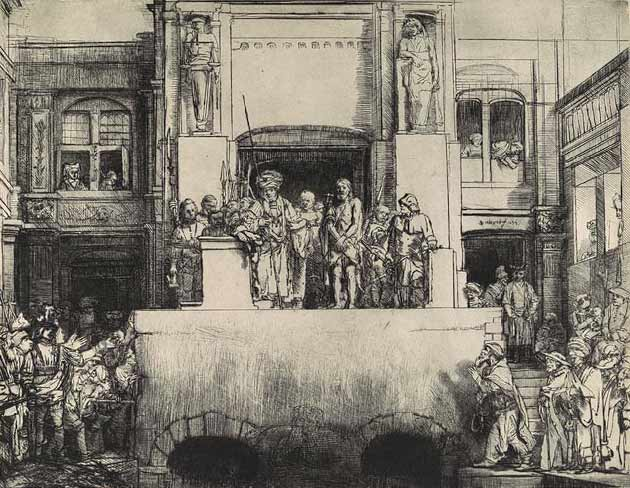 Christ Presented Before the People, Rembrandt van Rijn