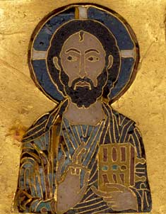 Byzantine Icon of the Pantocrator
