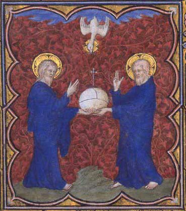 Limbourg Brothers, illumination prepared for John, Duke of Berry