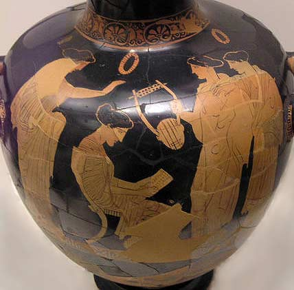 Greek Red-Figure Vase