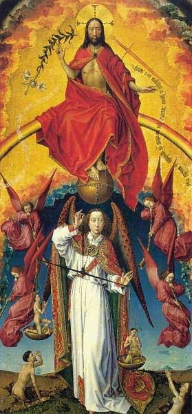 Rogier van der Weyden, The Archangel Michael