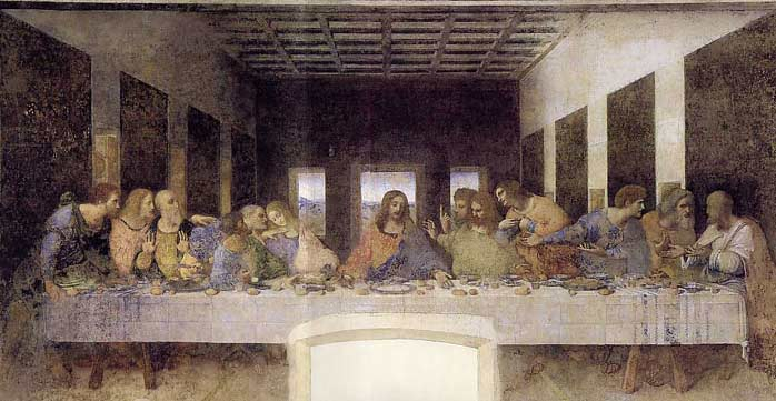The Last Supper, Leonard Da Vinci