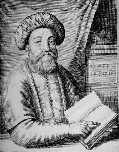 Portrait of Sabbatai Sevi, in Thomas Coenen