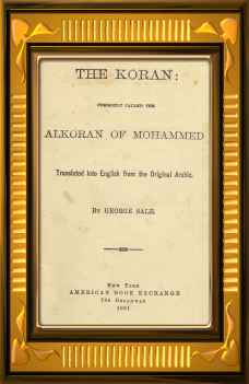 Download Sale's translation of the Koran!