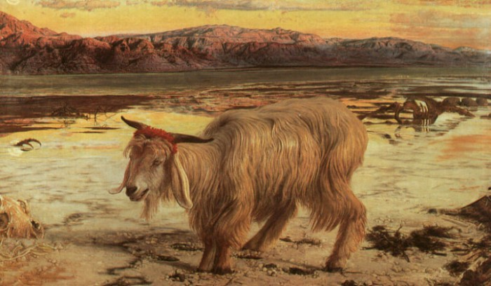 The Scapegoat, William Holman Hunt