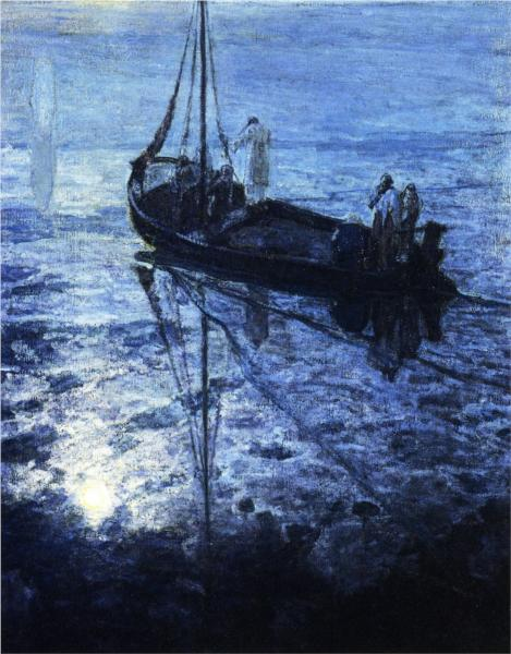Henry Ossawa Tanner, The Disciples See Christ Walking on the Water