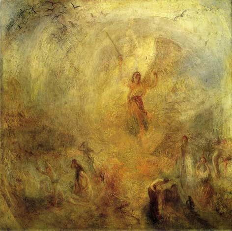 The Angel Standing in the Sun, by Joseph Mallord William Turner