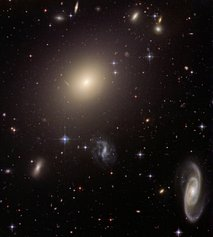 Hubble Telescope picture of galaxies
